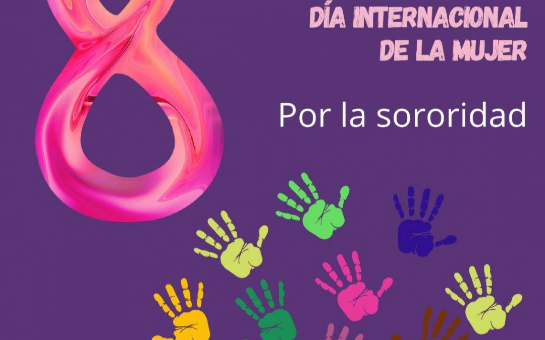 8 de marzo; En lucha por nuestros derechos.