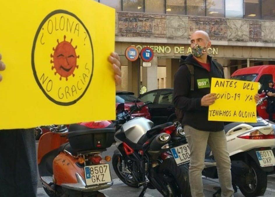 Exigimos el cese inmediato del Consejero de Desarrollo Rural y Sostenibilidad del Gobierno de Aragón